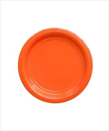 色のついたお皿